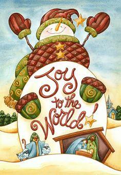 Pinzellades al món: Il·lustracions de ninots de neu / Ilustraciones de muñecos de nieve / Illustrations snowmen
