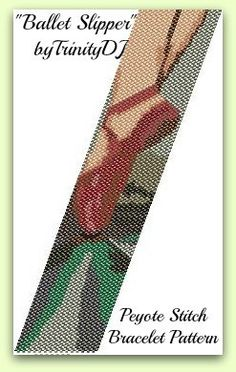 BP-ART-003  Ballet Slipper-Odd Count Peyote Stitch by TrinityDJ