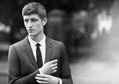 Chris Beek: The Face of Burberry Tailoring Campaign | Model News | Model Diary