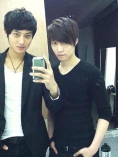 Tao & Yixing. Dang. Yixing was hot pre-debut as well.