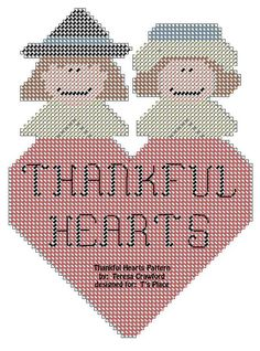 Thankful Hearts Pattern