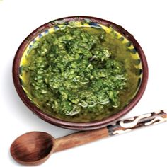 Dips and Salsa Recipes from South America: Chimichurri Sauce - Argentinian Chimichurri Marinade