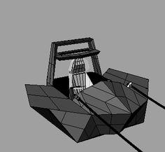 Pod Racer - Correccion Final #DiseñoEspeculativo #StarWars #PodRacer