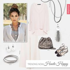 Trending now: - This season's girl is a free spirit… Designer Jewellery, Jewelry Design, Long Layered, Independent Consultant, Haute Hippie, Trending Now, S Girls, Free Spirit, Hippy