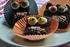Receta de Brownies con Ojos