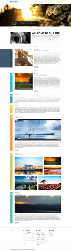 Website: Photolab - Responsive Wordpress Website Theme (HTML, CSS3, JS)