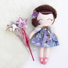 Excited to share this item from my shop: Wendy custom heirloom doll Alice In Wonderland Dress, Wonderland Costumes, Peter Pan Dress, Dead Bride, Cute Baby Gifts, Fur Cape, Bride Of Frankenstein, Girls Dress Up, Custom Dolls