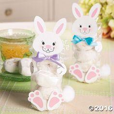 Bunny Donuts Craft Idea