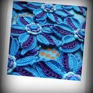 Irish crochet padded motifs ile ilgili görsel sonucu