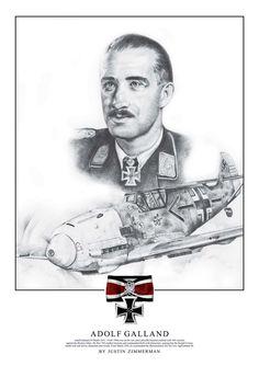 Messerschmitt Bf 109 - Adolf Galland