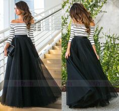 Skirts glide over your heavier lower part and hence give you a ...