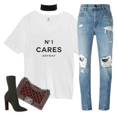 Untitled #586 by sofiairis on Polyvore featuring polyvore, fashion, style, Alexander Wang, WithChic, Chanel, Charlotte Russe and clothing