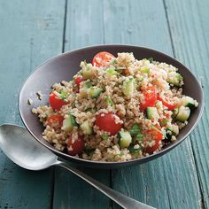 Tabbouleh with Mint and Cherry Tomatoes | Williams-Sonoma