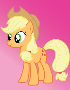 """One of the class concepts that can be applied to the show is the stereotype of """"Good Country Folk"""". The mare in the picture's name is Applejack and she is country to the core- no pun intended! She's hardworking, dedicated, and so honest she holds the """"Element of honesty"""" (basically claiming she's the most honest pony in Equestria) She works on an apple farm with her brother, grandmother, and younger sister. Stereotypes appeal to us in media because it is a way to categorize complex groups"""