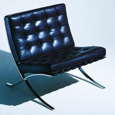 Ludwig Mies van der Rohe Barcelona Chair.  Please contact Avondale Design Studio for more information on any of the products we feature on Pinterest.