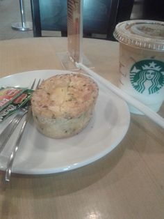 Breakfast at Starbucks. Anyone want to?