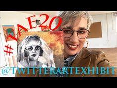 Impasto Painting Timelapse / Spooky Bride #TAE20 Abstract Portrait, Artist At Work, Original Paintings, Bride, Videos, Wall, Youtube, Pattern, Diy