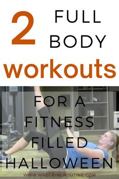 Get in the Halloween mood with these full body workout. Choose 31 reps or spell out Halloween! Or do both for a FULL body scare. Add fitness to your festivities. Workouts to prep for Halloween. At home workouts to make fitness fun. #fitness #funfitness #wreckingroutine Home Exercise Routines, Workout Routines, Workout Motivation, Body Workouts, Fun Workouts, At Home Workouts, Workout Meal Plan, Workout Ideas, Fitness Fun