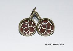 """Ohrhänger """"Giraffe"""" von Angela`s Kreativ Welt auf DaWanda.com"""