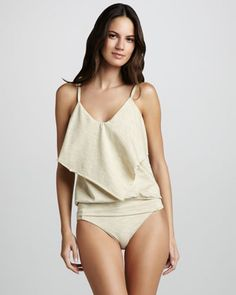 d2a55fda88aab Opening Night Tankini by Luxe by Lisa Vogel at Neiman Marcus. Night  Swimming, Swim