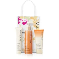 Peach Satin Hands Pampering Set ❤ liked on Polyvore featuring beauty products