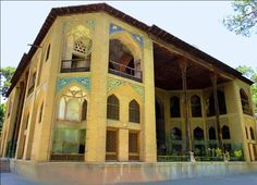 "Hasht Behesht Palace- Esfahan Province  (Iran) "" The Middle East - Asia """