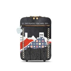 """Travel Suitcase"" by cultofsharon ❤ liked on Polyvore featuring art, contest and contestentry"