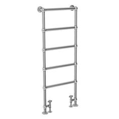 Shop the Chatsworth Floor Mounted Towel Rail 1550 x - Chrome, featuring classic styling this luxury traditional towel would look superb in any bathroom. Towel Bar Height, Slab Leak, Bathroom Radiators, Eclectic Bathroom, Plumbing Problems, Heated Towel Rail, Bath Or Shower, Vintage Dressers, Upstairs Bathrooms