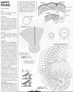 Kira scheme crochet: Scheme crochet no. 1238