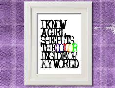 I know a girl, she puts the color inside my world - John Mayer lyrics