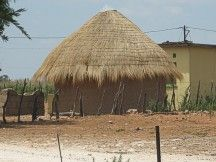 A house in the country Botswana. Africa, Country, Wood, Crafts, House, Manualidades, Rural Area, Woodwind Instrument, Home
