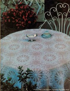Art: Three tablecloths