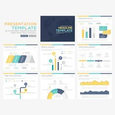 More than a million free vectors, PSD, photos and free icons. Exclusive freebies and all graphic resources that you need for your projects Business Presentation, Presentation Design, Presentation Templates, Portfolio Design Books, Book Design, Free Infographic, Infographic Templates, Infographics, Powerpoint Design Templates