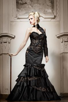 Lucardis Feist: Extravagantes Brautkleid