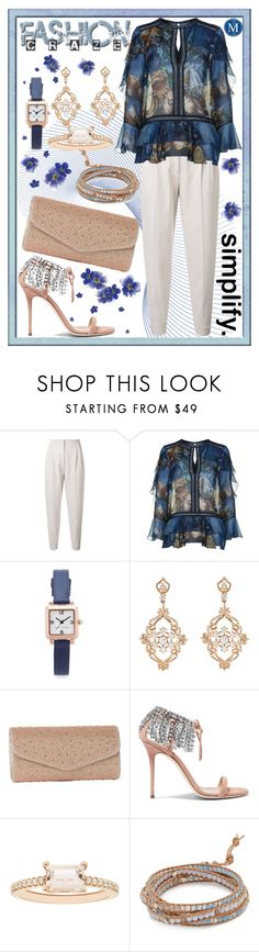 """Daily find"" by summer-marin ❤ liked on Polyvore featuring MaxMara, Alberta Ferretti, Marc Jacobs, Sara Weinstock, J. Furmani, Giuseppe Zanotti, Boston Bay Diamonds, Chan Luu and Oopsy Daisy"