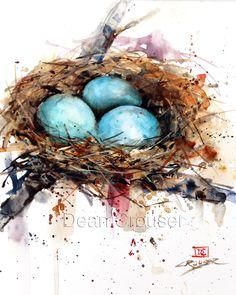 BIRD NEST - The Art of Dean Crouser