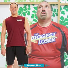 Joe's before and after transformation! #BiggestLoser #fitnessmotivation #weightlossmotivation #beforeafter #weightloss #loseweight