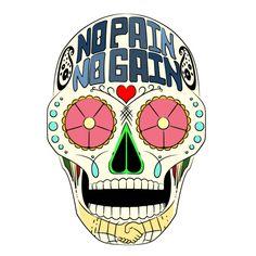 Mexican Skull art design