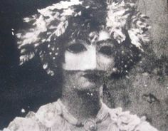 """Masked Woman"" from Unseen Versailles series (archival pigment print on steel)~Photograph © Deborah Turbeville, 2010 Miroslav Tichy, Edward Burne Jones, Briar Rose, Animal Masks, Vogue, Dark Beauty, Belle Epoque, Versailles, Masquerade"