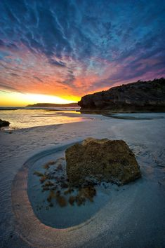 "travelingcolors: "" Pennington Bay, Kangaroo Island, South Australia (by Danny Xeero) "" Travel Photography Inspiration, Nature Photography, Beautiful World, Beautiful Places, Beautiful Sunset, Adelaide South Australia, Sydney Australia, Kangaroo Island, Journey"