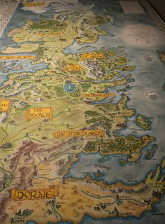 Hand-Drawn Westeros Map Update by Klaradox on DeviantArt Fantasy Map, Fantasy World, Game Of Thrones Map, Westeros Map, Got Map, Building Map, Board Game Table, Map Games, Game Of Trones