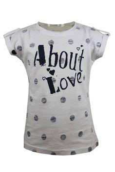 DJ Dutchjeans T-shirt wit About Love