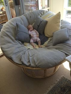 Giant Papasan Chair #PapasanChair