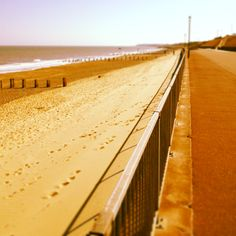 Promenade at Gorleston-on-Sea, Norfolk, England.