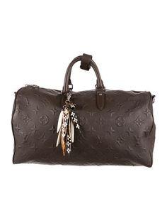 accede119e2a Men s Brown Louis Vuitton x EDUN Monogram Revelation Keepall 45  HighRoller   InvestmentPiece Louis Vuitton
