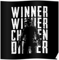 Winner Chicken Dinner Playerunknown S Battlegrounds Pubg Gaming