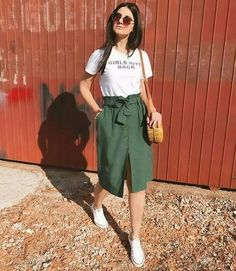 Fashion outfits - 65 genius summer outfits to copy this moment 8 ~ Litledress Cute Casual Outfits, Casual Dresses, Fashion Dresses, Chic Outfits, Look Fashion, Korean Fashion, Fashion Design, Fashion Art, Classy Fashion
