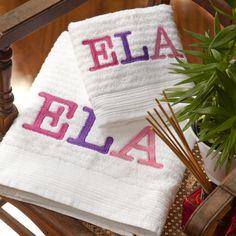 toalha de banho ela olivetti #AlfaiasCasa