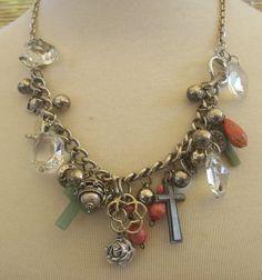 charm necklace by Angela Resendiz