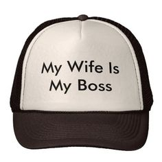 Boss Wife Trucker Hat